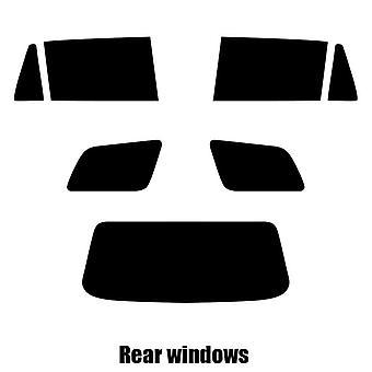 Pre cut fönstret nyans - Toyota Corolla Estate - 2002 till 2007 - bakre windows