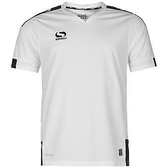 Sondico Mens Training Jersey Lightweight Short Sleeve Football Summer Top