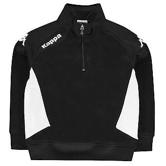 Kappa Kids Foligno Sweater Jumper Pullover Junior Long Sleeve Boys Print