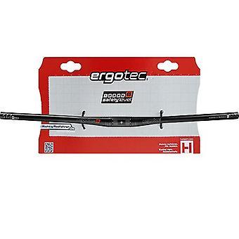Ergotec flat bar MTB handlebar (aluminium) / / safety level 5