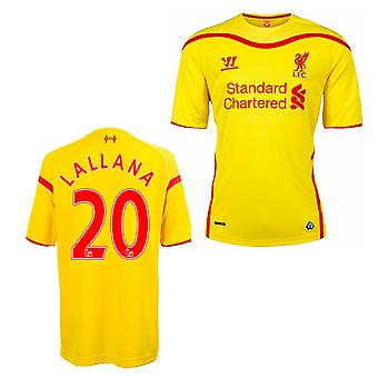 2014-15 Liverpool Away Shirt (Lallana 20) - Kids