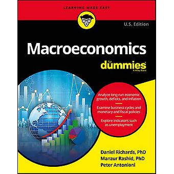 Makroekonomi for Dummies av Dan Richards - 9781119184423 bok