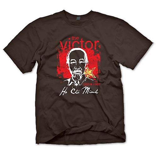 Mens T-shirt - Ho Chi Minh The Victor - Vietnam - Communism