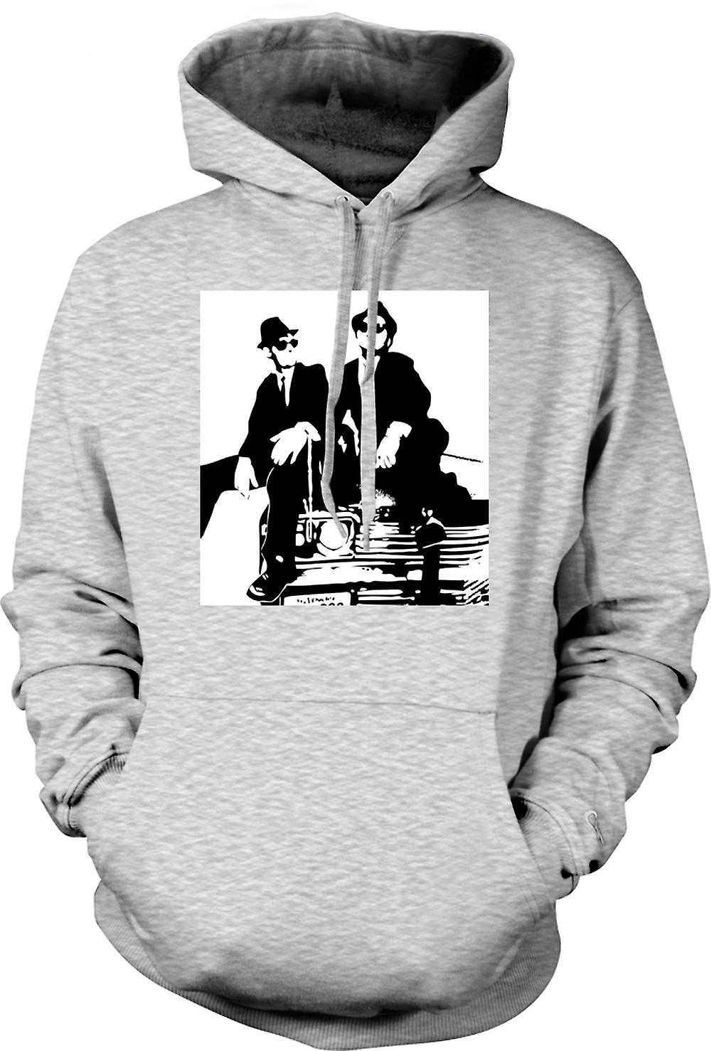Mens Hoodie - Blues Brothers - Pop Art