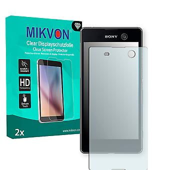 Sony Xperia M5 Screen Protector - Mikvon Clear (Retail Package with accessories)