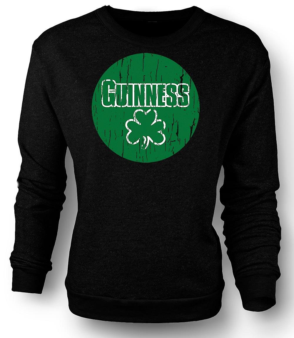 Mens Sweatshirt St Patricks Day Irish Guiness