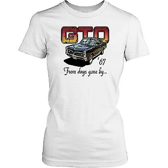 Ford GT 67 - From Days Gone By - Classic Sports Car Ladies T Shirt