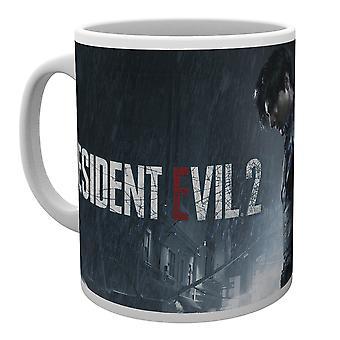 Resident Evil 2 regn Key Art krus