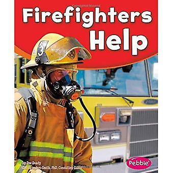 Brannmenn hjelp