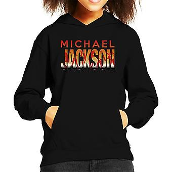 Michael Jackson dans Silhouettes Kid's Hooded Sweatshirt