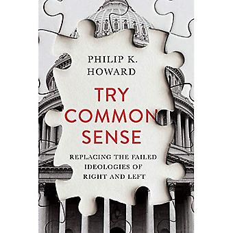 Try Common Sense - Replacing the Failed Ideologies of Right and Left