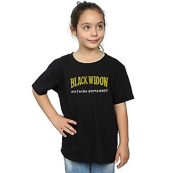 Marvel Girls Black Widow AKA Natasha Romanoff T-Shirt