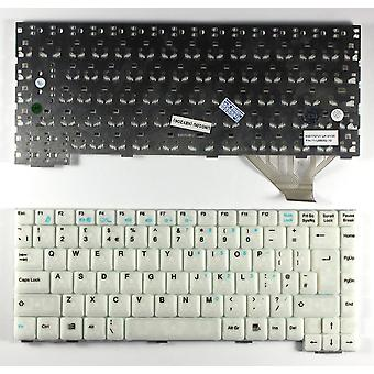 Fujitsu Siemens Amilo L7320 White UK Layout Replacement Laptop Keyboard
