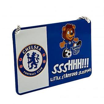 Chelsea Bedroom Sign Mascot