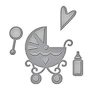 Spellbinders Dies D-Lites Sweet Baby (S2-228)
