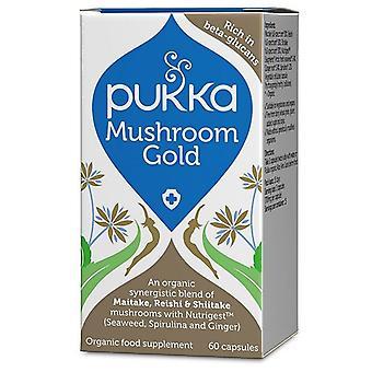 Pukka Mushroom Gold Capsules 60