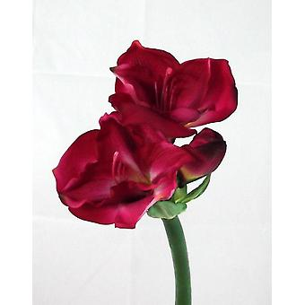Artificial Queen Amaryllis (Real Touch)