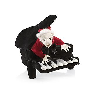Hand Puppet - Folkmanis - Mozart In Piano New Animals Soft Doll Plush Toys 2860