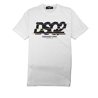 Dsquared2 DSquared2 Bros T-Shirt Blanc