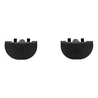 Replacement genuine oem l1 r1 buttons set for sony ps4 controllers - black