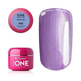 Base one Metallic-Romantic violet 5 g UV-gel