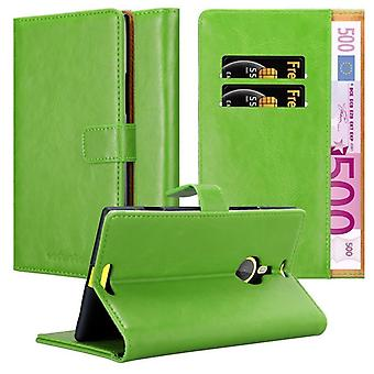 Cadorabo Hülle für Nokia Lumia 1520 Case Cover - Handyhülle mit Magnetverschluss, Standfunktion und Kartenfach – Case Cover Schutzhülle Etui Tasche Book Klapp Style