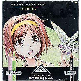 Prismacolor Premier Manga Colored Pencil Set 23/Pkg- 1774800