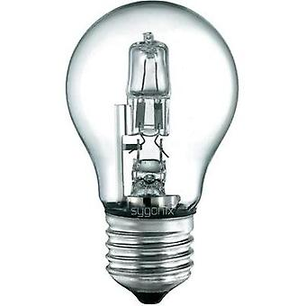 Eco halogen Sygonix 230 V E27 70 W Warm white EEC: C Pear shape dimmable 1 pc(s)