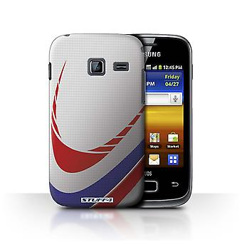 STUFF4 Case/Cover for Samsung Galaxy Y Duos/S6102/Rugby/Sports Balls
