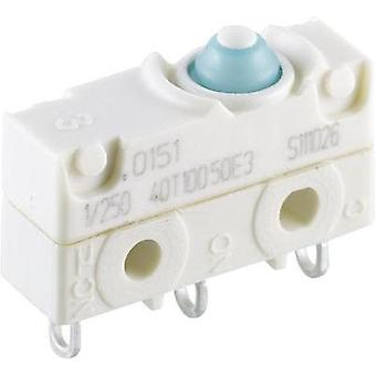 Microswitch 250 Vac 10 A 1 x On/(On) Marquardt 1045.0151-00 IP67 momentary 1 pc(s)