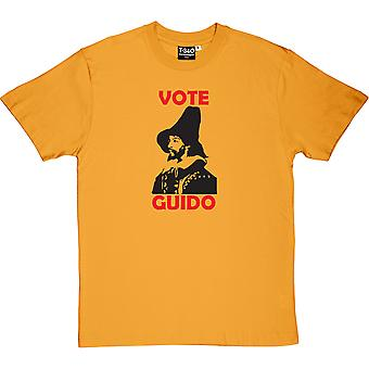 Guy Fawkes Vote Guido Men's T-Shirt