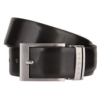 CROSS belts men's belts leather belts men's leather belts Belt Black/Brown 2814