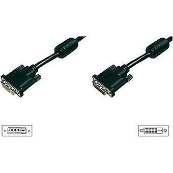 DVI Extension cable [1x DVI plug 25-pin - 1x DVI socket 25-pin] 4.5 m