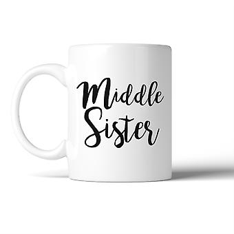 Middle Sister Mug Cute Birthday Christmas Gift Idea For Sister