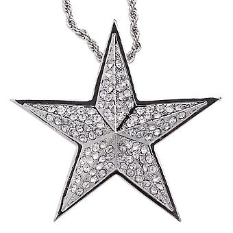 Iced Out Bling Hip Hop Kette - STAR