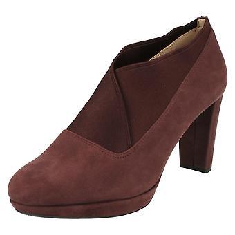 Mesdames Clarks chaussures pantalons Smart Kendra Mix