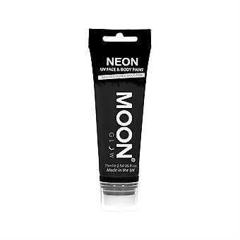 Moon Glow - 75ml Neon UV Face & Body Paint - Black