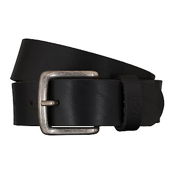 Lee belts men's belts leather belt black 4635