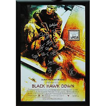 Black Hawk Down -  Signed Movie Poster