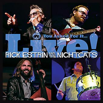 Estrin, Rick / Nightcats - You Asked for It / Live [CD] USA import