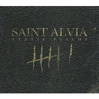 Saint Alvia - statisk Salmerne [CD] USA import