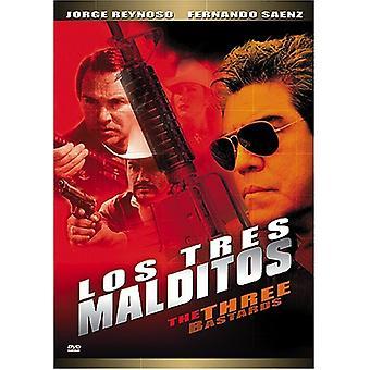 Los Tres Malditos [DVD] USA import