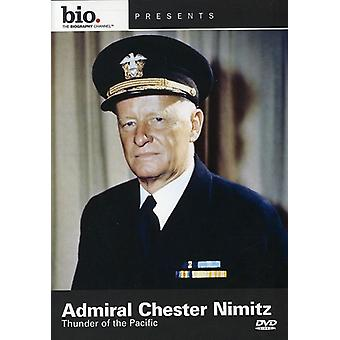 Admiral Chester Nimitz-Thunder of the Pacific [DVD] USA import