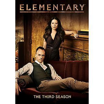 Elementary: The Third Season [DVD] USA import