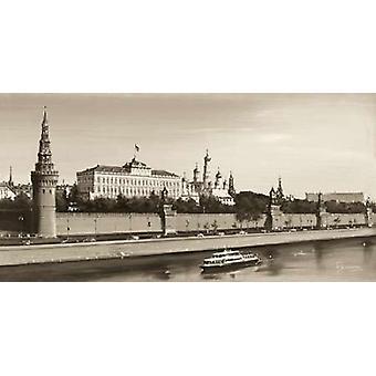 Blick auf den Kreml Poster Print von Rjasanow