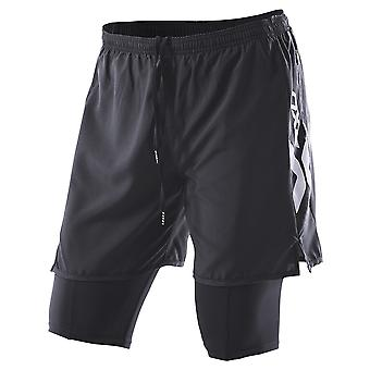 2XU Men Compression X Run Short - MR2343b-0001