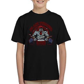 Black Pyramid Gym Mumm Ra Thundercats Kid's T-Shirt