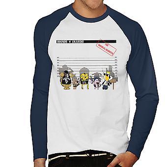 Hounds Of Anarchy Men's Baseball Long Sleeved T-Shirt