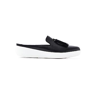 FitFlop Women's Superskate Slip On Mules - Black