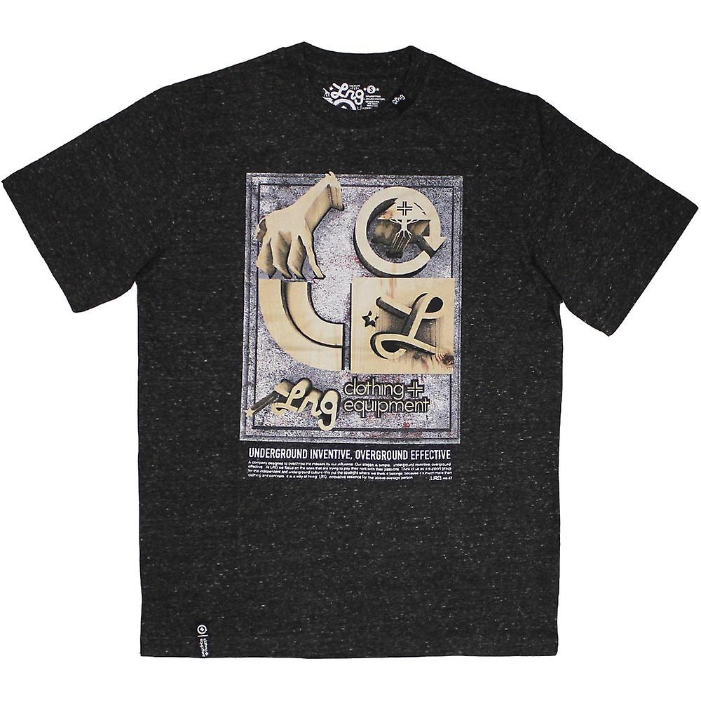 LRG Core Kollektion sieben T-shirt Black Heather